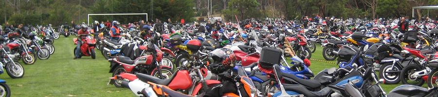 Hahndorf oval, 2010 Toy Run