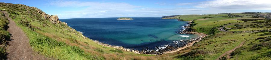 View from the Bluff, Victor Harbor
