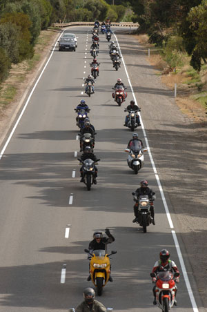 Ridden-On Ride 2007 - Photo courtesy of the Advertiser