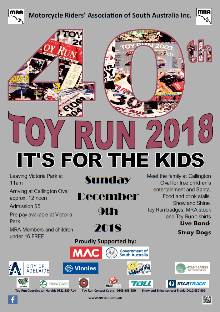 Toy Run Poster 2018